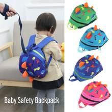 6a48f161db3 Leuke Dinosaurus Baby Safety Harness Rugzak Peuter anti-verloren Tas  Kinderen extreem duurzaam stevige en