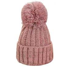 Autumn And Winter Trend Color Matching Hood Simple Knit Hat New Striped Hair Ball Cap Outdoor Warm Casual Wild Ladies Wool Cap