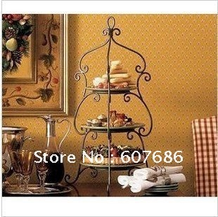 3 Tier Iron Wedding Cake Stand, 30*55cm, Cake Holder Cake ... on Iron Stand Ideas  id=44581