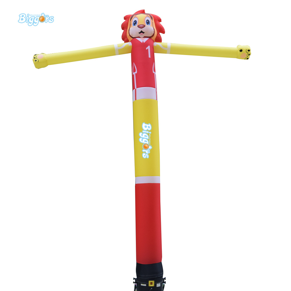 Outdoor Customized Lion Inflatable Tube Inflatable Air Puppet Dancer Sky Wavy Dancing Wind Fly Dancer цена и фото