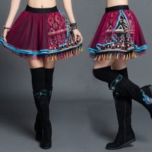 womens KYQIAO boho skirts