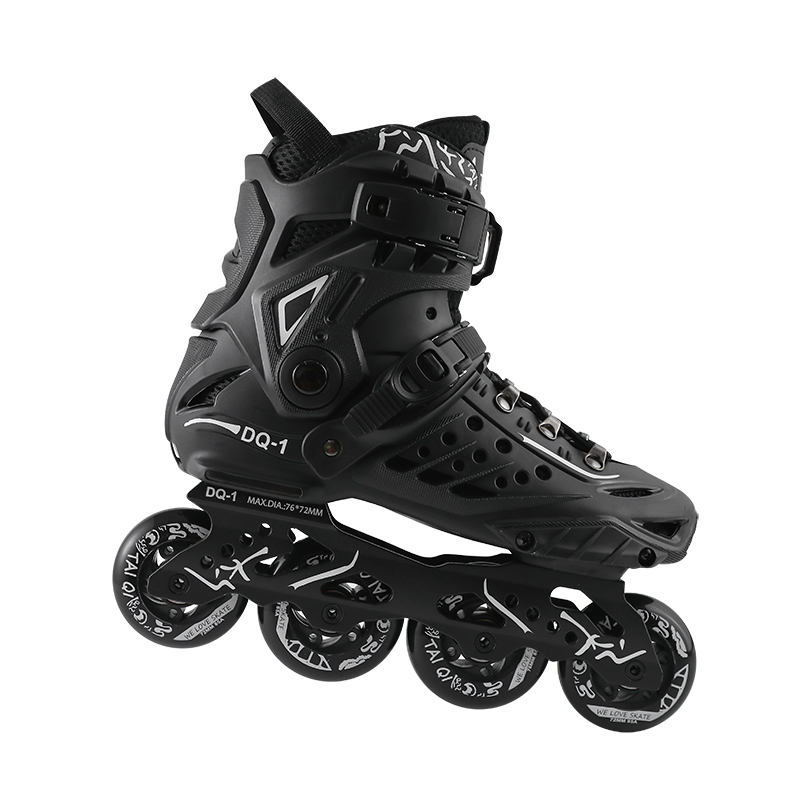 New Professional Freestyle Inline Skates Boots Durable PU Wheels Roller Skating Shoes