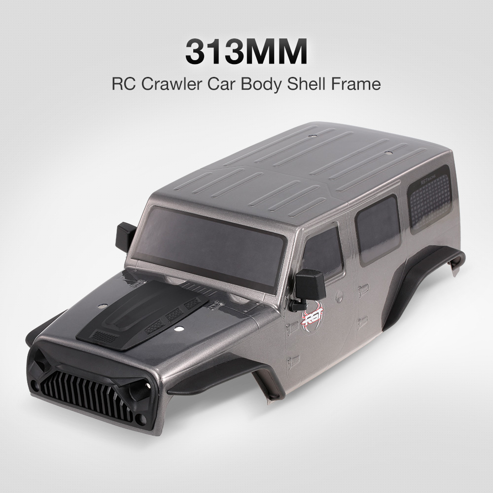 RGT Voiture Corps Shell pour 1:10 RGT 86100 HSP HPI Traxxas Redcat RC4WD Tamiya Jeep Wrangler RC Crawler Voitures DIY