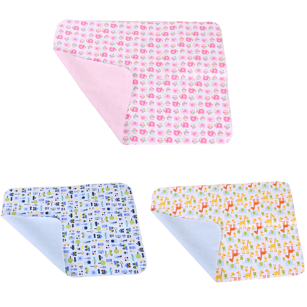 Reusable Baby Infant Diaper Urine Mat Waterproof Changing Cover Pads Mat C