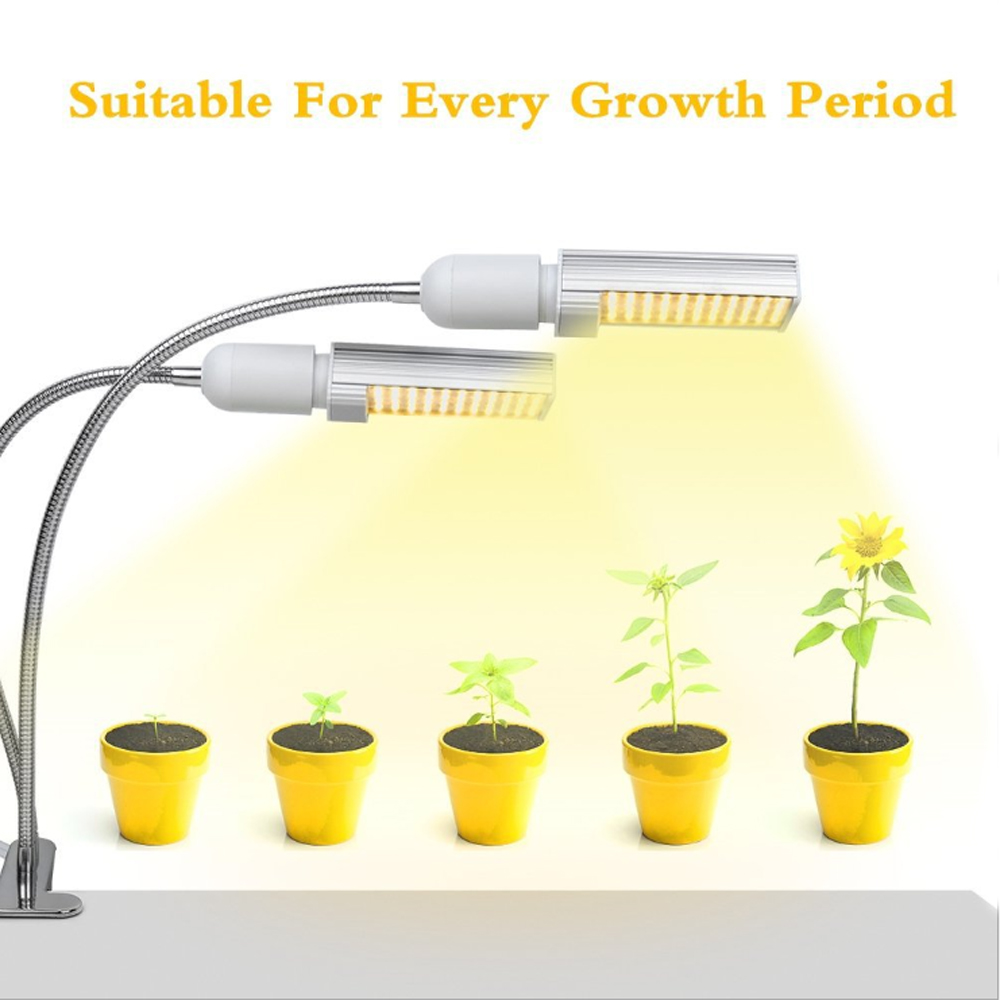 Amazon Wholesales Phyto Lamp USB Dimmable Led Plant Grow Light 45W Full Spectrum For Indoor Plant Seedling Fitolampy
