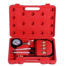 0 300 PSI sprężarki Test miernik ciśnienia próbnik ciśnienia benzyna gaz silnika wycieku cylindra narzędzie diagnostyczne auto naprawy w Zestawy narzędzi ręcznych od Narzędzia na