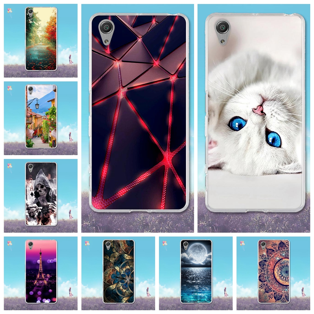 For Sony Xperia X Performance Case 3D Painting Fundas For Sony X Performance Cover Soft TPU X Silicone Performance Phone Cases