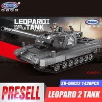 XINGBAO 06032 Military Series The Leopard 2 Tank Set Building Blocks Bricks Tank Toys Model Boys Toys Birthday Christmas Gifts