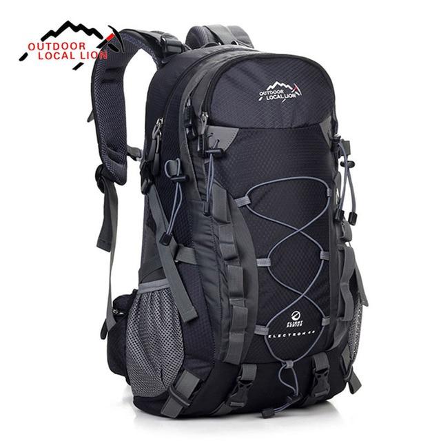 fb94fa0fb4 LOCAL LION 40L Backpacks Travel Bag Men Waterproof Rucksack Backpack Women Backpack  Bag