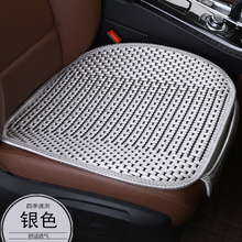 KKYSYELVA 3PCS  Easy Install Car Seat Cushion Cover Universal Auto Front Back Seat Covers Car Chair Mat Pad Interior Accessories