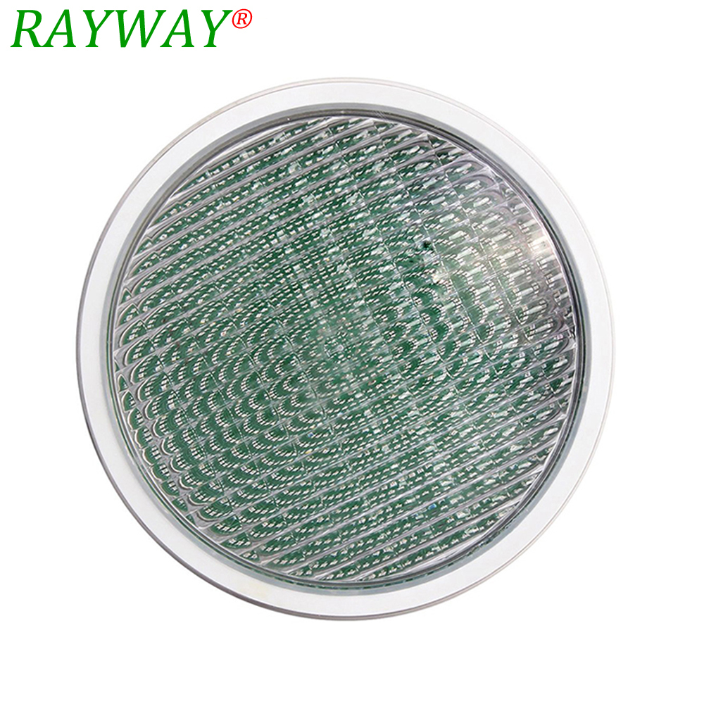Par56 Pool Light RGB IP68 Underwater Light RAYWAY Par 56 54W AC/DC 12V LED Swimming Pool Lighting For Outdoor Pond Party Decor