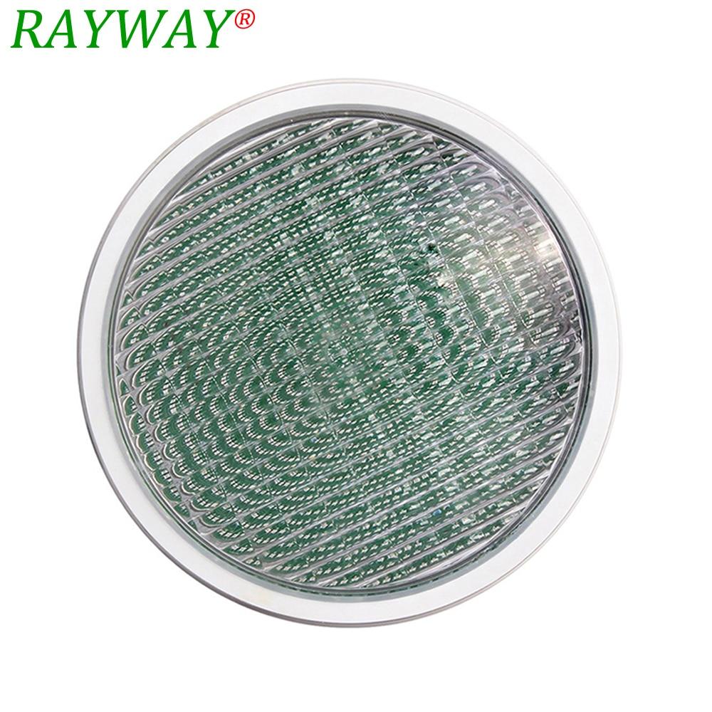 RAYWAY LED Par56 ampoule Lampe 54 w 12 v AC par 56 lampe LED piscine éclairage RGB IP68 LED lumière sous-marine Étang lumières