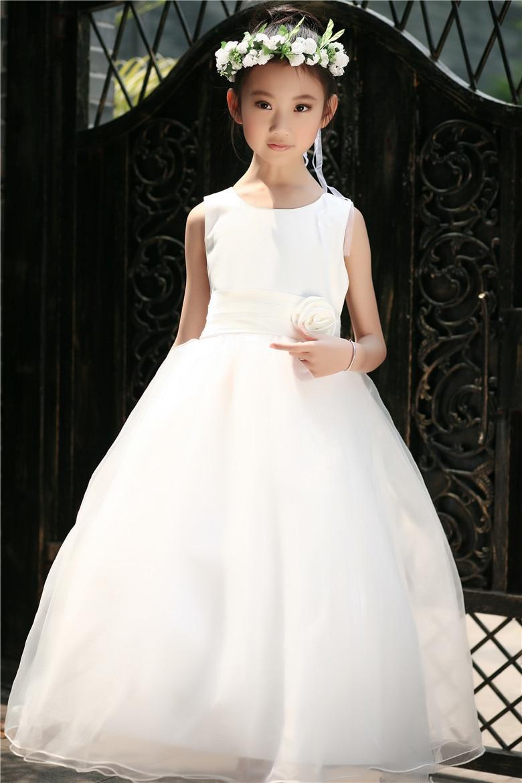 Aliexpress.com : Buy 2017 Children Wedding Dress For Girls 140 ...