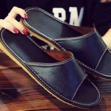 Slippers Casual-Shoes Waterproof Women Breathable No Couple Scalp And Home
