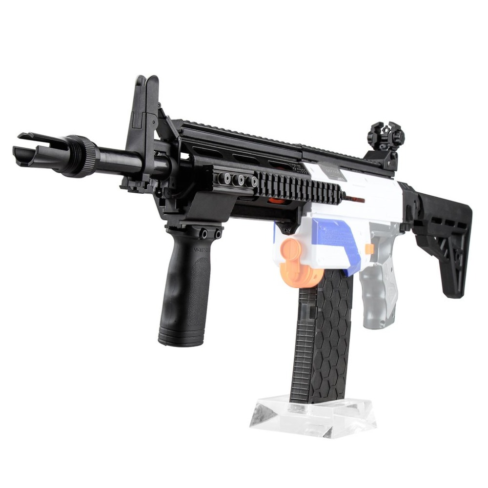 M4 Kits Kit d'habillage Combo 13 articles Kit d'imitation 3D impression haute résistance en plastique Combo pour Stryfe modifier jouet pour Nerf bricolage jouet