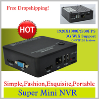 8ch Super Mini 1080P NVR Network Video Recorder With ONVIF 15X Digital Zoom Motion Detection External