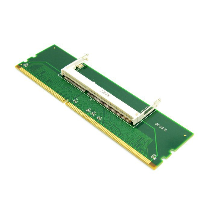 50pcs / lots DDR3 Laptop SO-DIMM to Desktop PC DIMM Memory RAM Adapter DDR3 204Pin To 240Pin Lod ,By  UPS DHL