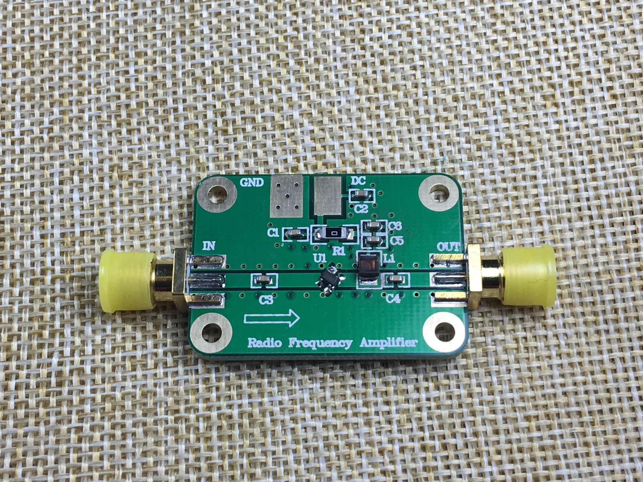 A Wideband Low Noise Amplifier LNA 100MHz to 4000MHz NF:0.6 lna пиджак