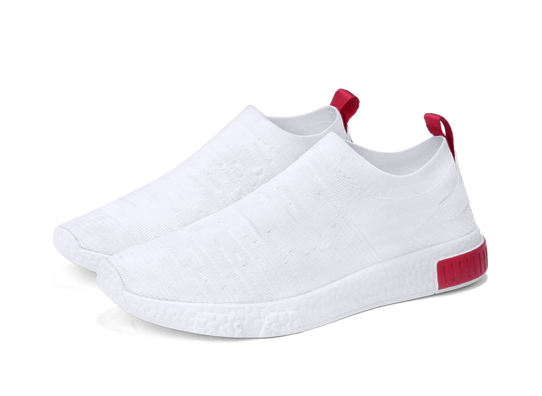 HTB1QHpNzf9TBuNjy0Fcq6zeiFXaG Thin Shoes For Summer White Shoes Men Sneakers Teen Shoes Without Lace Trend 2019 New Feel Socks Shoes tenis masculino chaussure