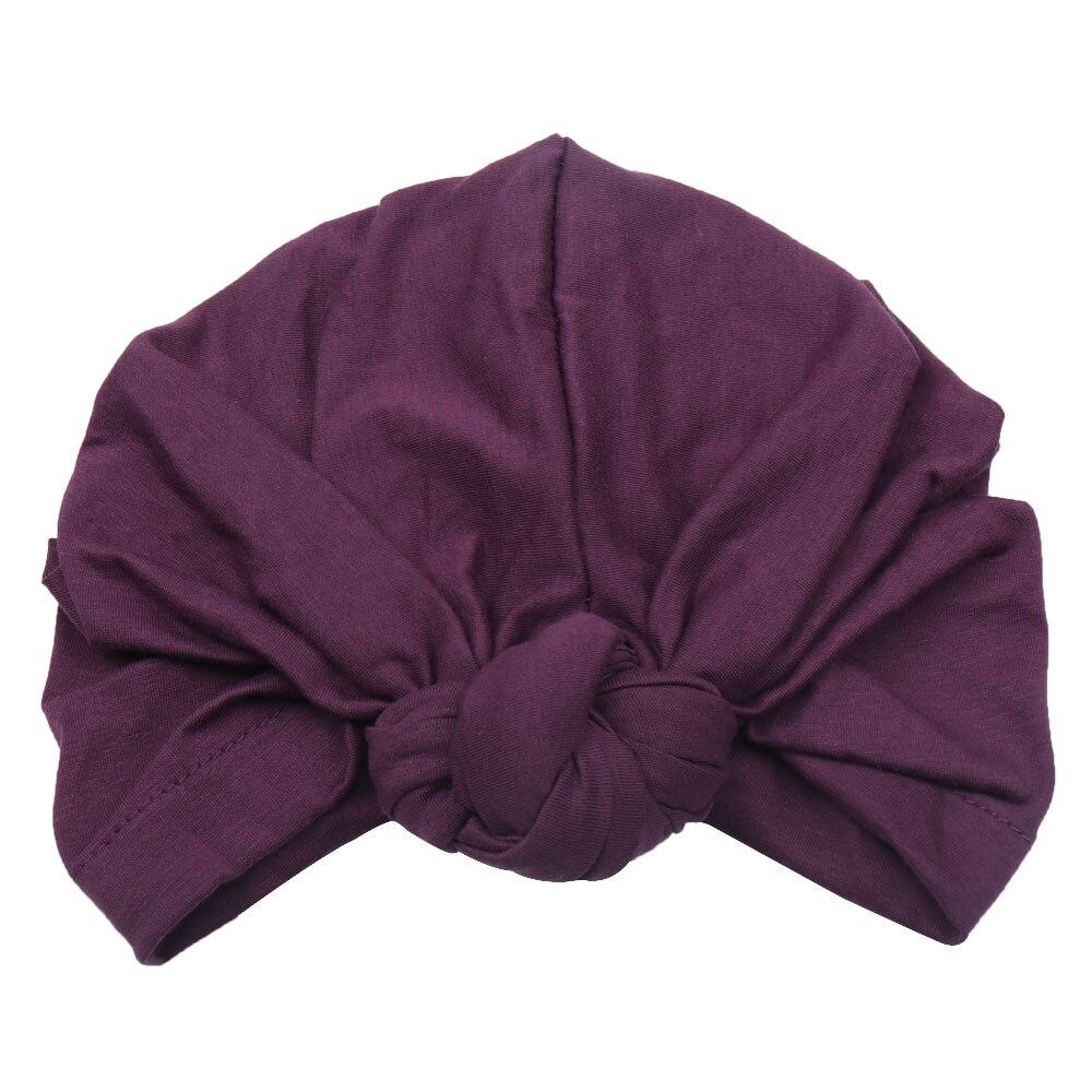 Image 5 - Cotton Muslim Headband For Women Lady Elastic Turban Hat Stretchy  Wide Headbands Winter Bandanas Hair Accessories Head BandsWomens Hair  Accessories