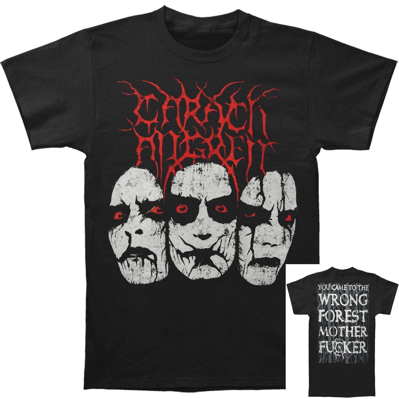 Carach Angren Men's Wrong Forest T-shirt Black Top Quality Cotton Casual Men T Shirts Men Free Shipping Men Lastest