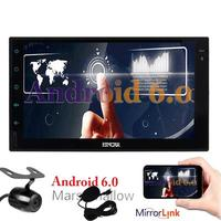Free Reverse Camera As Gift Android 6 0 In Dash Touch Screen Navigation Car Stereo 2
