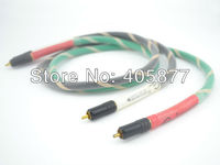 1M 3FT RCA Audio OFC Cable Locking Plug Phono CD Player Amplifier