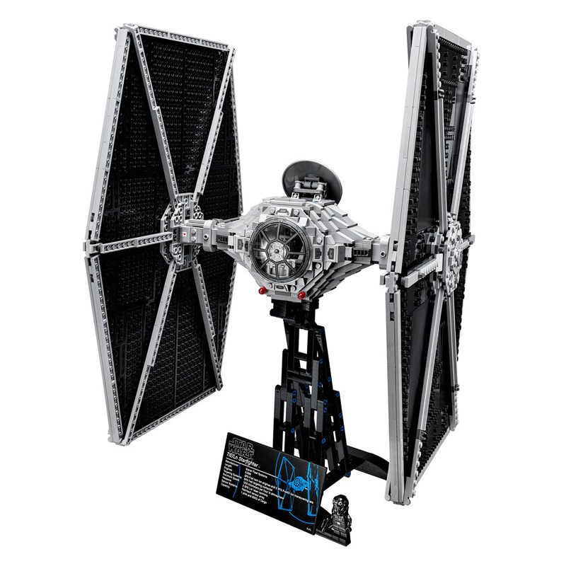 LEPIN 05036 1685pcs Star Series Wars Tie Building Fighter Educational Blocks Bricks DIY Toys For Children Gifts Compatible 75095