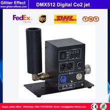 DMX512 цифровой Одной трубы Со2 джет DJ disco кинотеатра ночной клуб бар сценическое оборудование cyro туман машина