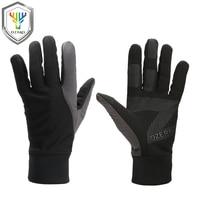 OZERO New Men Work Gloves Women Welding Gloves Windproof Polyester Insulate Cotton Waterproof TPU Gloves For