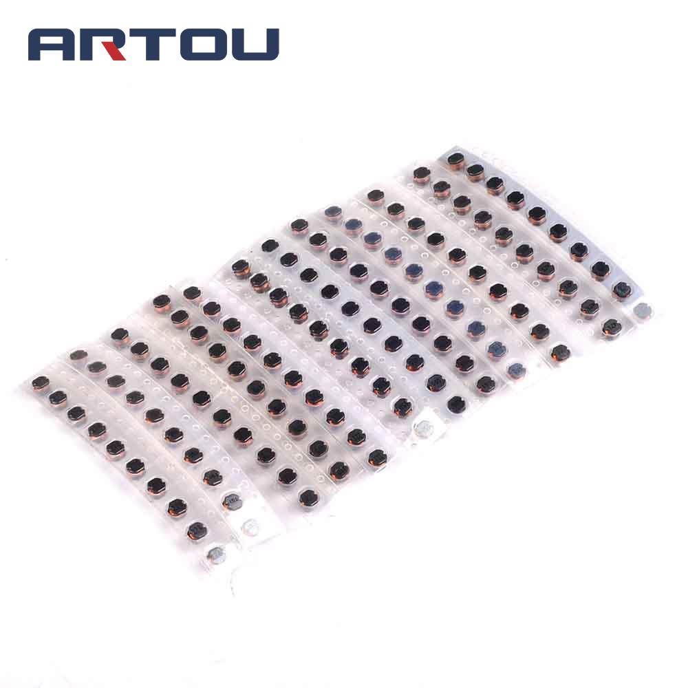 4x4x3mm CD43 SMD Power Inductor Kit For BOURNS SDR0403 Series 10uH~470uH ,12Values X 10pcs=120pcs