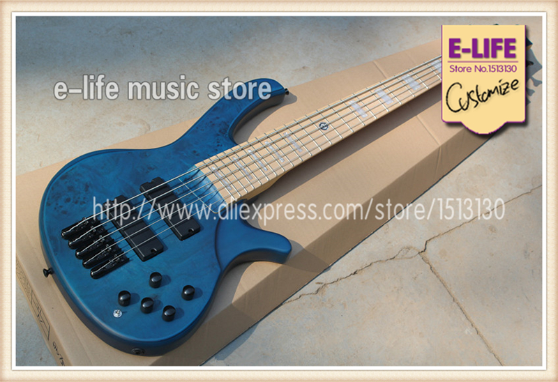 custom shop 5 strings bass guitar deadwood top blue color chinese electric bass guitarra blue. Black Bedroom Furniture Sets. Home Design Ideas
