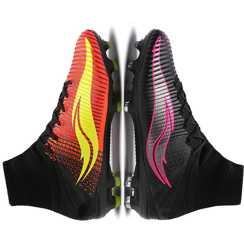 Hombres Superfly Zapatillas de Soccer FG alta tobillo fútbol niños Botas  negro Volt profesional tacos sneakers tamaño 35 46 en Zapatos de fútbol de  Deportes ... 214d2f8d83683