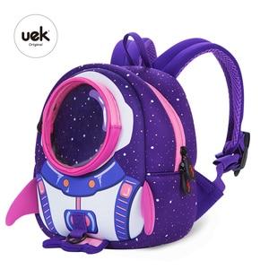 Image 2 - 2019 新 3D 子供ランドセルかわいいアンチロスト子供のバックパックスクールバッグバックパック子供のためのベビーバッグ年齢 1 6