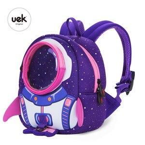 Image 2 - 2019 nowe torby szkolne dla dzieci 3D śliczne Anti lost plecak dla dzieci plecak szkolny dla dzieci torebki dziecięce dla wieku 1 6 lat