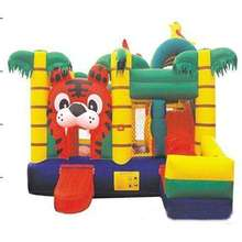 2017 customized inflatable bouncer slide for kids/outdoor playground for sale