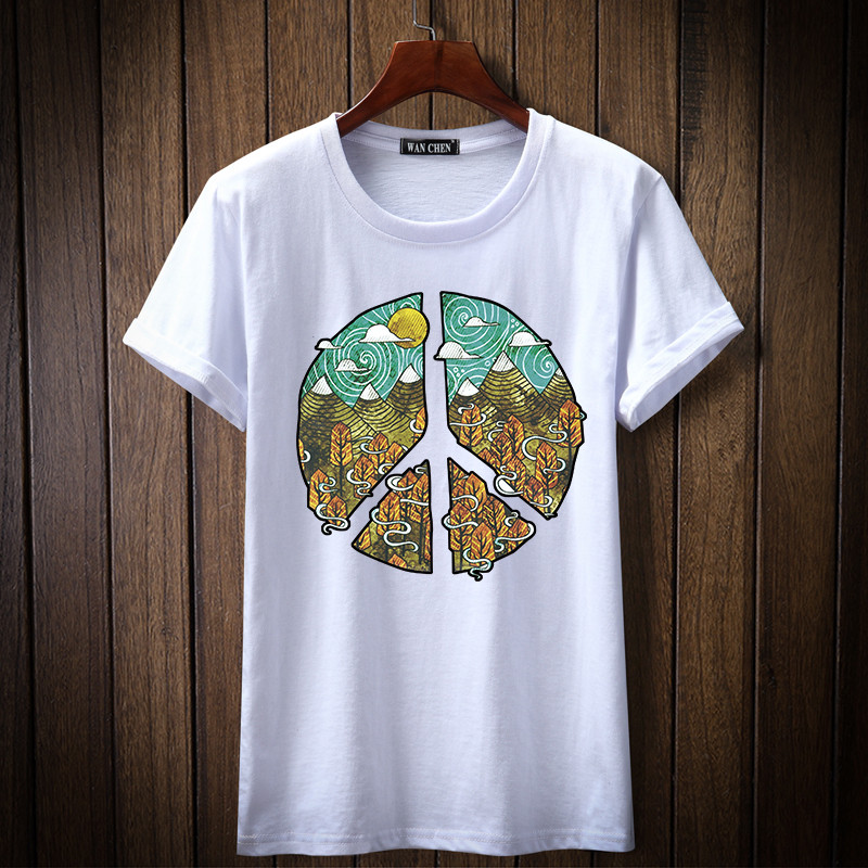 JALEEMAN SWEN 2018 short sleeve t shirt men design 100% cotton T-shirt male o-neck