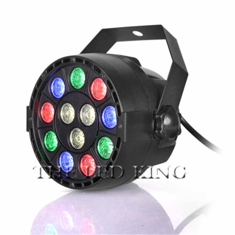 LED שלב אורות Marygel 12 Led Par אורות RGBW DMX צבע ערבוב שלב עד תאורה