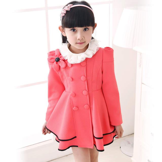timeless design 75245 9ca8c Rivestimento di inverno di modo per le ragazze 4-12 anni di inverno dei  bambini Giubbotti Cappotti di alta qualità del bambino della ragazza della  ...