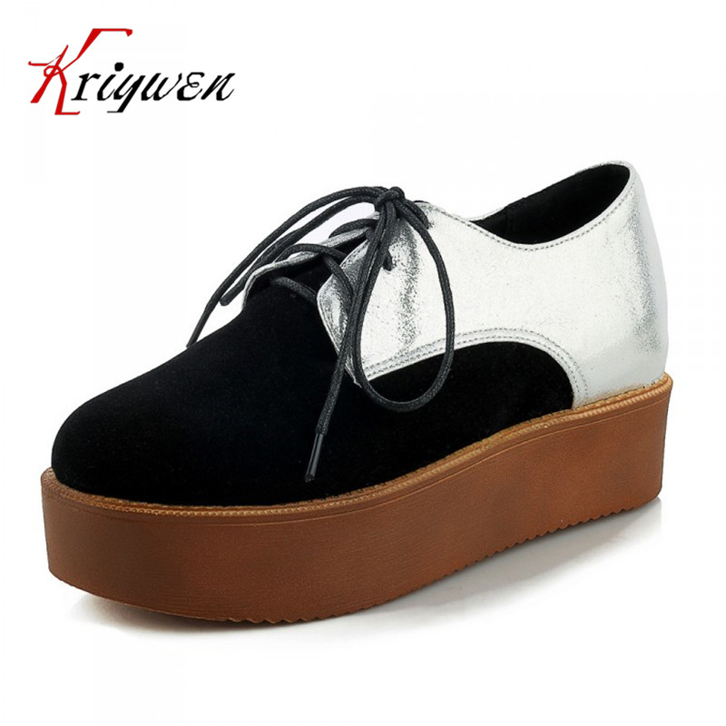 ФОТО Large size 30-44 2016 spring autumn new arrival platforms flat mixed colors women shoes round toe high quality ladies flats