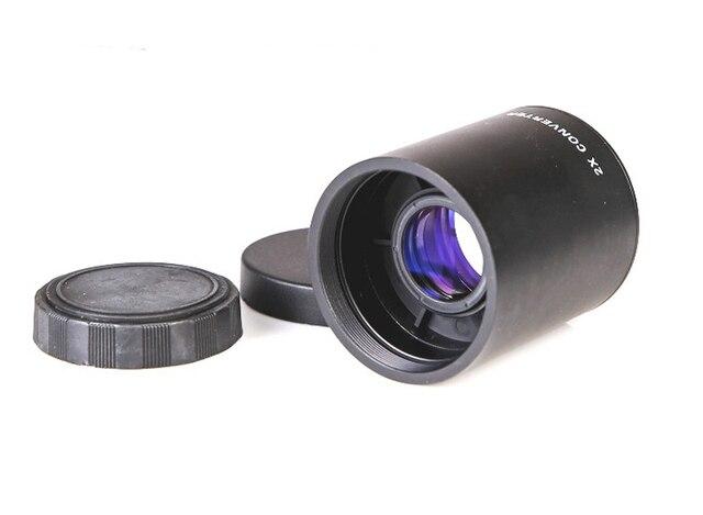 2X Teleconverter Lens for Telephoto Lens 650 1300mm 420 800mm & 500mm Mirror Lens