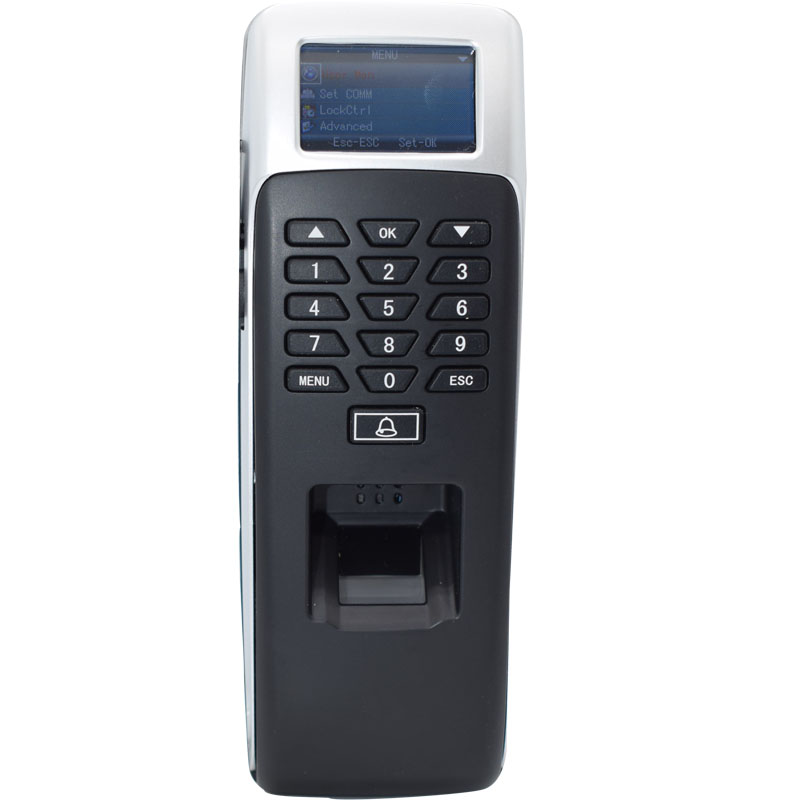 TCP/IP Fingerprint Biometrics Time Attendance Password Rfid Access Control Wiegand Output Support USB Download Data