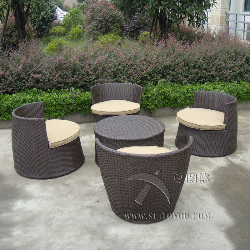 Groovy Us 629 0 5 Pcs Hand Woven Brown Resin Wicker Bullet Obelisk Sofa Set Steel Frame Obelisk Sofa Set Transport By Sea In Garden Sets From Furniture Squirreltailoven Fun Painted Chair Ideas Images Squirreltailovenorg