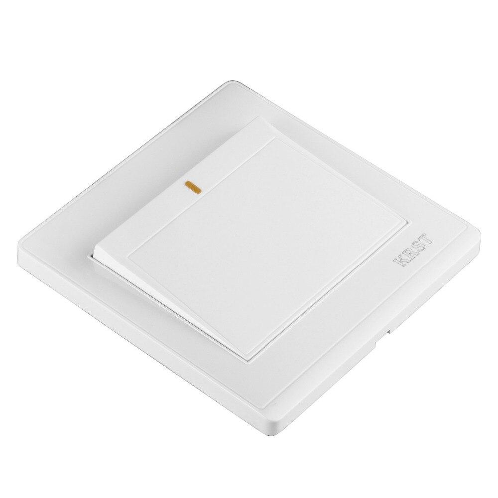 Interruptor da Tomada de Parede casa 86-Mounted Cerâmica Branca, abrir Um Único Interruptor, PC 250 V 10A