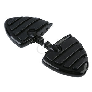 Motorcycle Male Mount-Style Wing Style Foot Rests FootPegs For Harley Touring Electra Glide Softail FLS FXCW FLSS FLHS V-Rod(China)