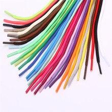 Цветные шнурки для обуви, шнурки для парусиновых кроссовок, спортивная обувь, длинные шнурки 8 мм в ширину, 200 см, 26 цветов