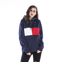 New Fashion Pattern Women Winter Hoodie Hooded Sweatshirts Tops Autumn Winter Casual Long Sleeved Loose Pullover
