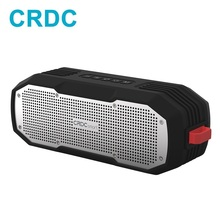 CRDC Bluetooth רמקול MP3 נגן מיני נייד חיצוני עמיד למים אלחוטי סטריאו עמודת בס רמקול עבור iPhone Xiaomi