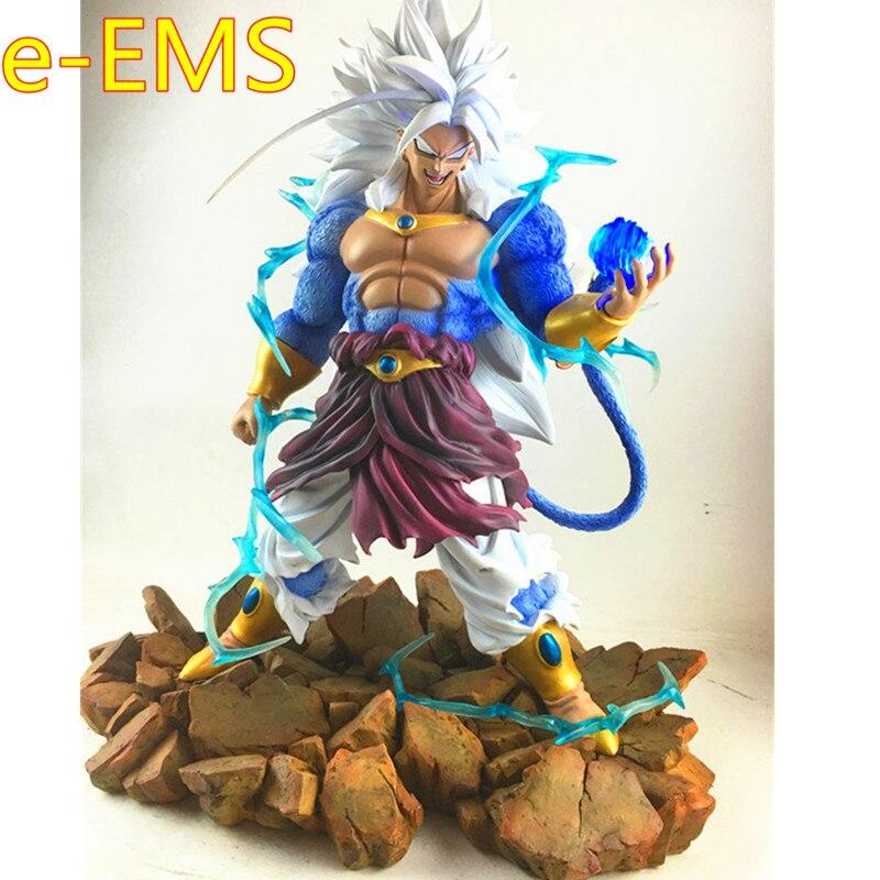 Dragon Ball Z Супер Солдат Broli Супер Saiyan 5 GK смолы статуя фигурку модель игрушки G2259