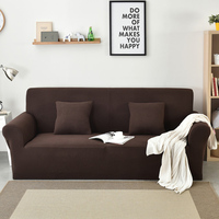Polar fleece fabric Solid color sofa Cover Washable Removable stretch Towel Armrest couch Covers Slipcovers Stretch